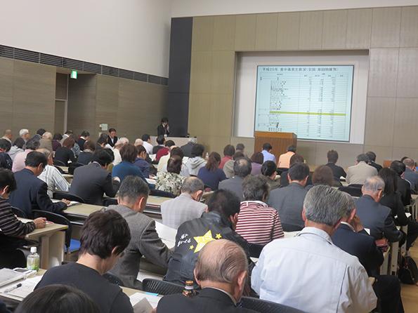 講演「最近の食品衛生の動向について」福島県保健福祉部食品生活衛生課