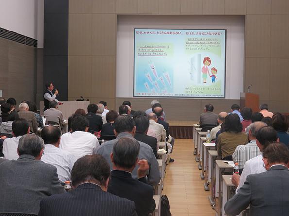 講演「食品放射能、今とこれからを考える」 自然科学研究機構核融合科学研究所 准教授 佐瀬卓也先生