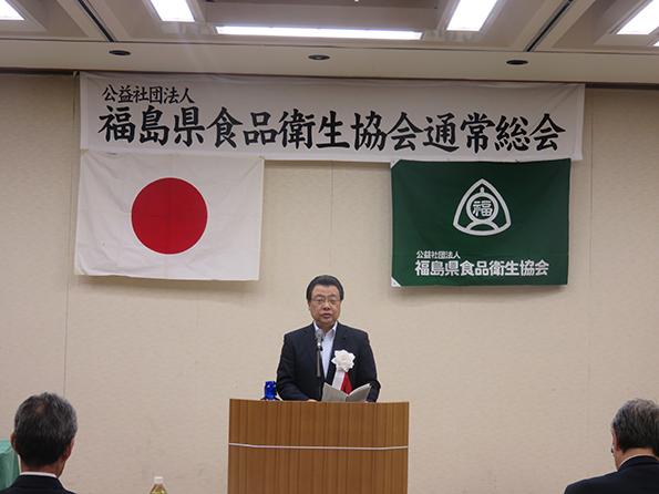 来賓挨拶 今井久敏県議会議員