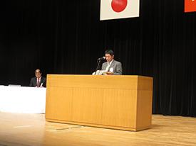 発表者 食品衛生指導員 五十嵐芳道氏
