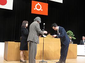 食品衛生功労者代表 渡辺和夫氏