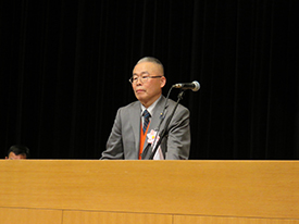 発表者 食品衛生指導員 萩原 宗夫